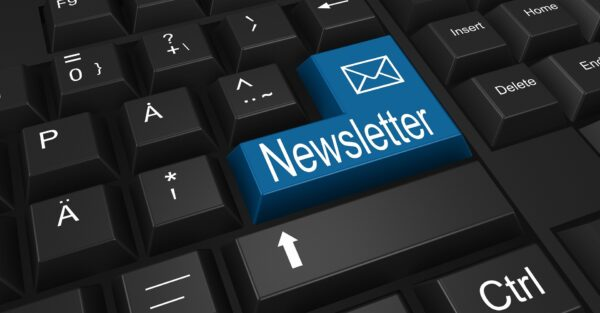 newsletter key on keyboard