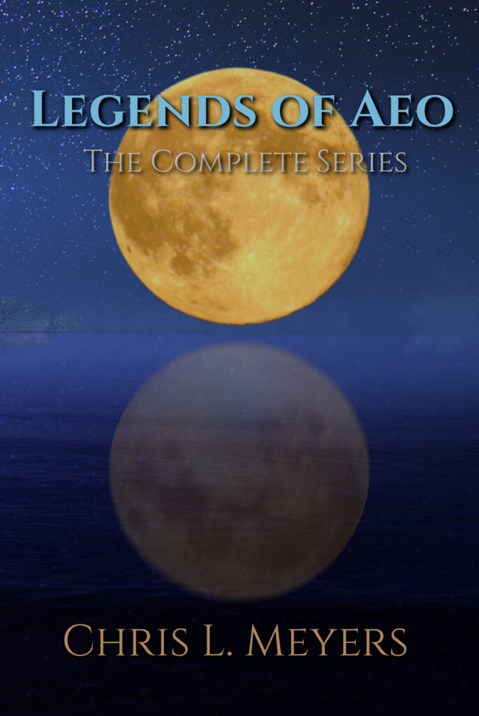 book cover blood moon over the sea
